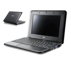 MSI Wind Netbook U90 BLACK