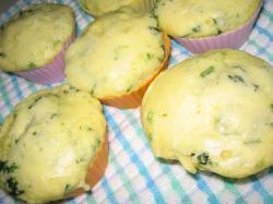 菜の花蒸しパン