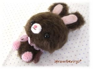 チョコイチゴウサギ1