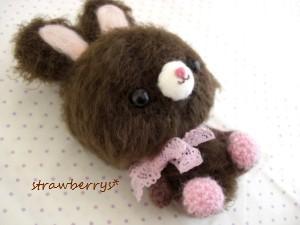 チョコイチゴウサギ2
