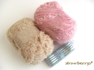 毛糸とリボン