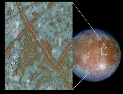 木星の衛星「エウロパ」