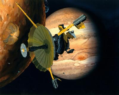木星探査機「ガリレオ」