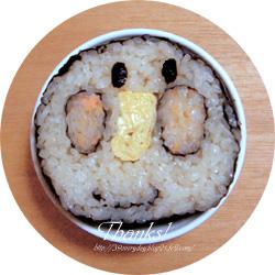 アンパンマンの巻き寿司