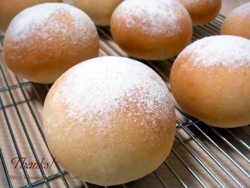 お家でパン練習_ミルクパン