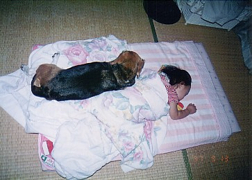 寝る子は育つ