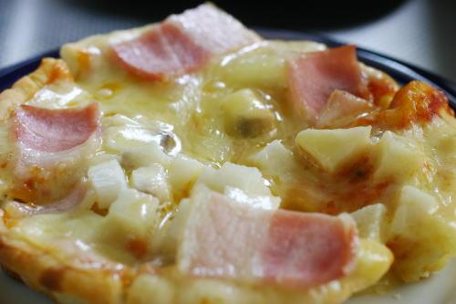 とろろピザ
