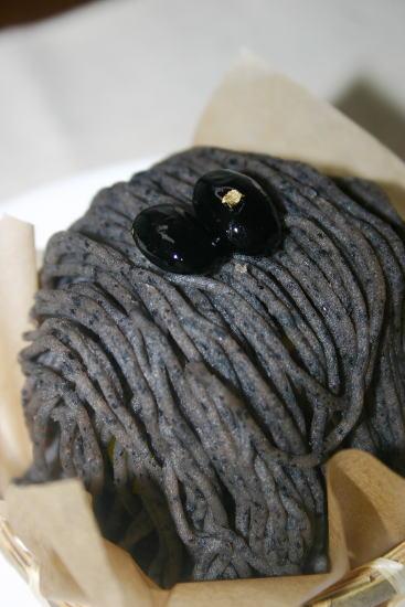 黒豆モンブラン