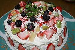 ヒロ誕 フルーツケーキ