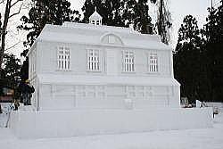 雪灯篭 広場②
