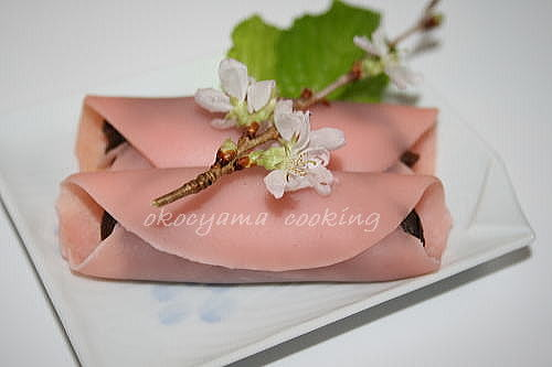桜餅 okocyamacooking