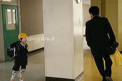 入学式たか坊 廊下