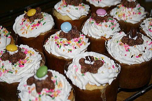 りゅう誕 カップケーキ
