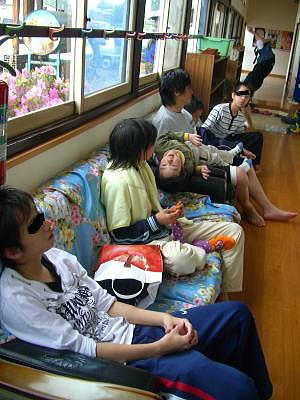 田んぼアート2008.6.1田植え⑦