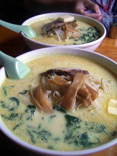 札幌館 味噌カレー牛乳