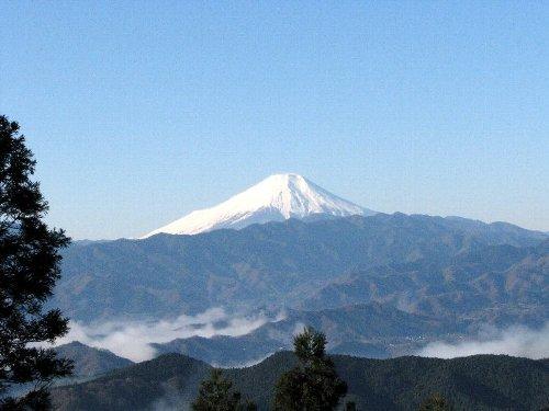 3 景信山からの富士山