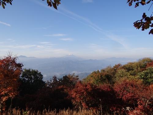 b 富士山