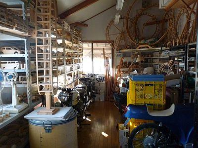 その隣の 倉庫になってた・・メモリアルルームには・・