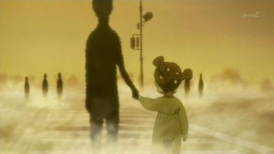 連れ去られる京子