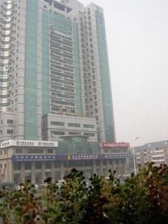中国は高いビルばっかりです
