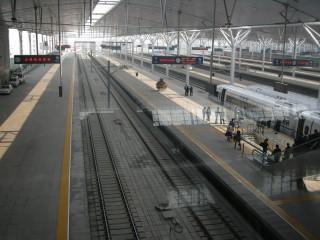 天津駅です