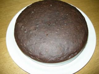 炊飯器ココアケーキ