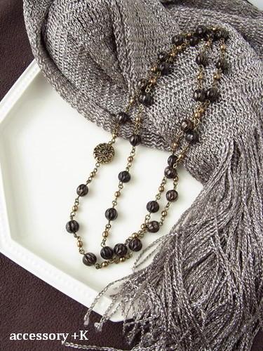 accessory +K ネックレス