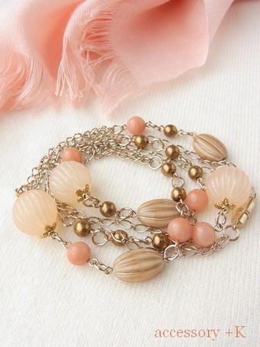 accessory +K 春色ネックレス