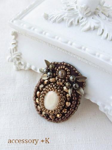 accessory +K ビーズ刺繍
