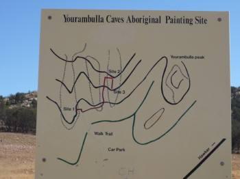 Yourambulla の看板