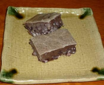小豆餅ケーキ