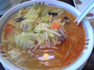 野菜味噌辛子ラーメン
