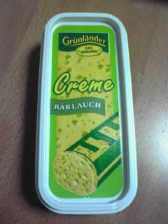 クリームチーズパケ