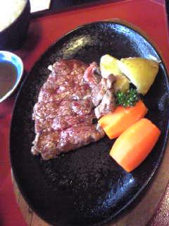ステーキ膳