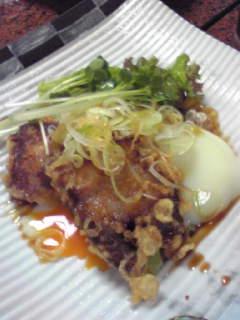 角煮の天ぷら
