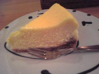 結チーズケーキ