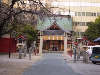 天神駅の神社