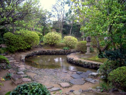 田中義一別宅の庭