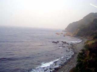 萩 日本海