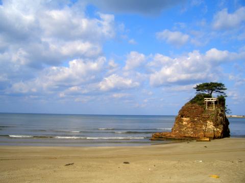 出雲 日本海