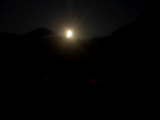 浜坂 月明かり
