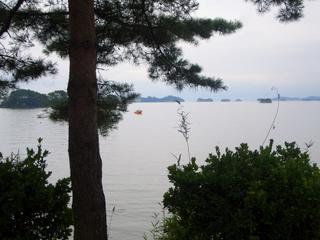 松島 曇り