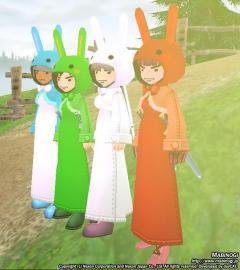 ウサギ戦隊