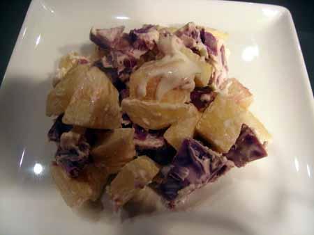 紫芋サワークリーム