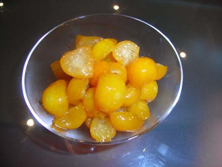 金柑蜂蜜煮