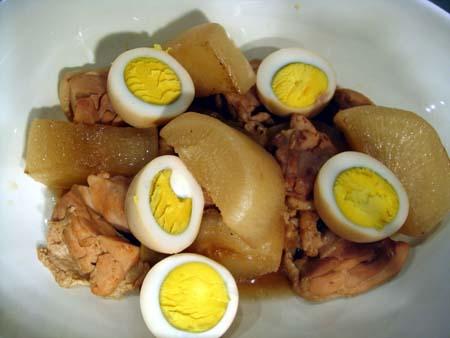 鶏肉と大根のほくほく煮