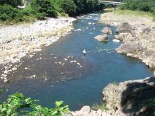 奇麗な大山川2