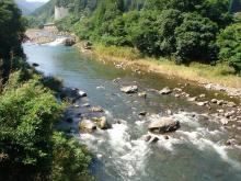 奇麗な大山川