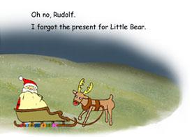 「サンタクロースのおくりもの」の英語版3