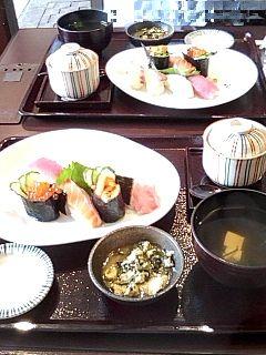 寿司定食 2009/8/28